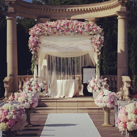 Northvale nj wedding florists amaryllis event decor for 7 events flower decorations