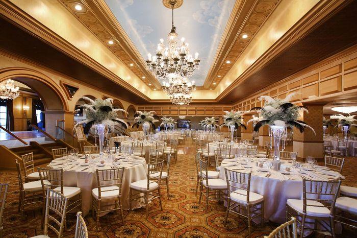 The Claridge Hotel Atlantic City Nj Wedding Venues