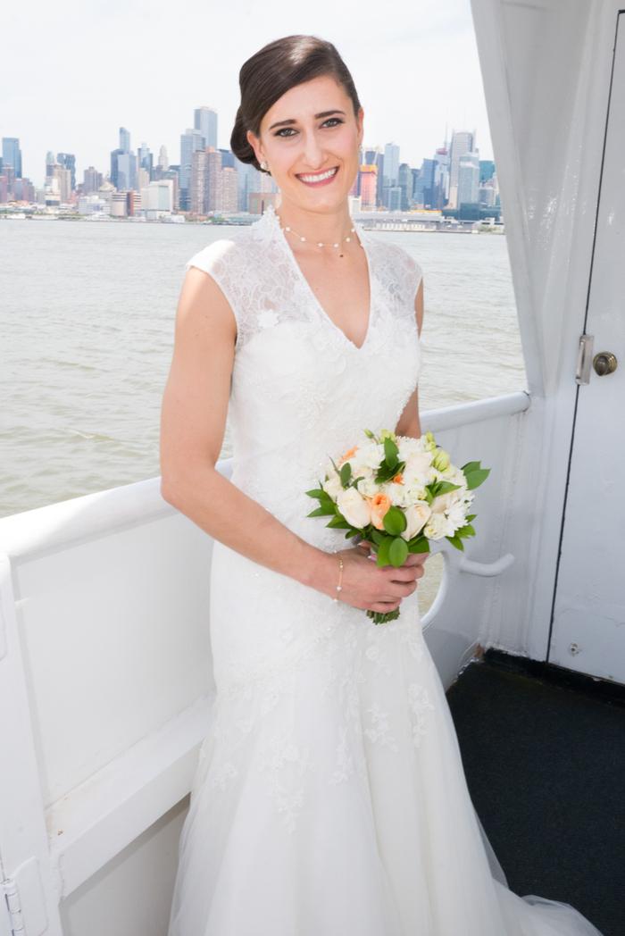 weehawken  nj wedding services - ny boat charter - yacht weddings