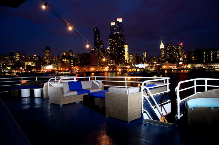 Hudson river yacht club wedding