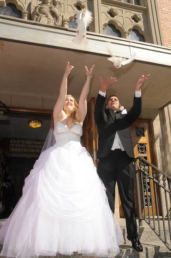 Cream ridge wedding