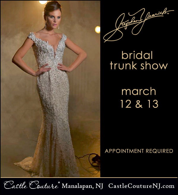 Wedding Gown Cleaning And Preservation Cost: Stephen Yearick Spring 2016 Bridal Trunk Show