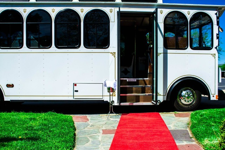 Shore Luxury Limos Introduces the White Trolley for NJ Weddings & Events