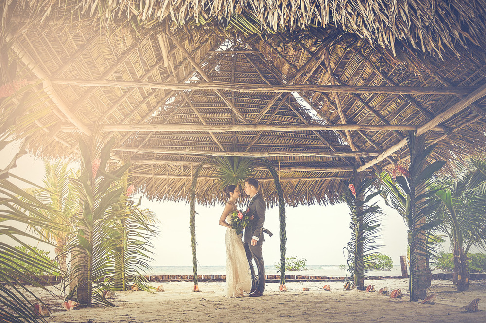 An Ethereal Island Destination Wedding In Belize