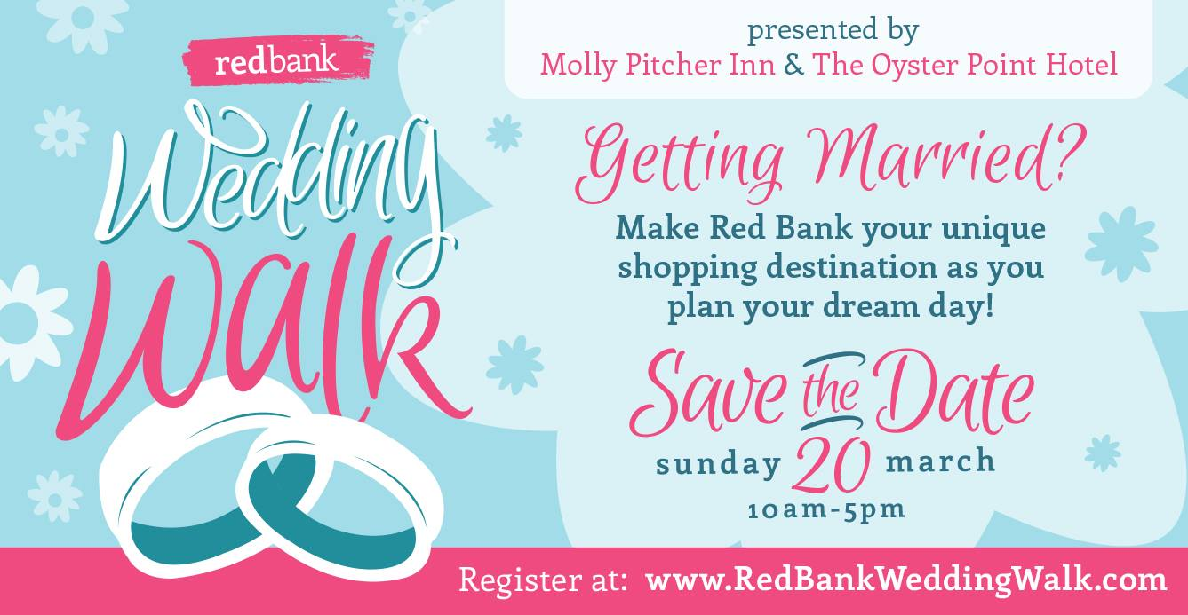 Escape to Red Bank for A Cool Little Wedding as Red Bank RiverCenter hosts its annual Wedding Walk by Red Bank Wedding Walk in Red Bank NJ