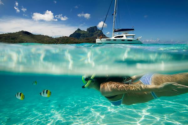 Embark on a Crewed Yacht Charter for your Honeymoon!