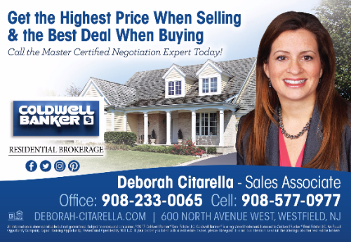 Coldwell Banker Residential Brokerage - The Deborah Citarella Team in Westfield NJ