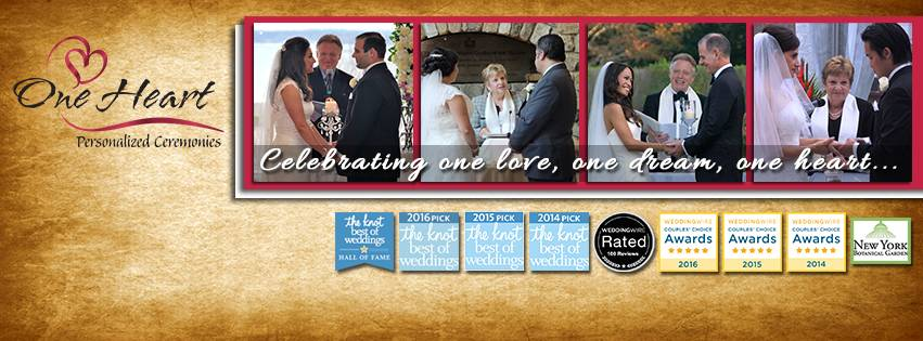One Heart Personalized Ceremonies in New York City NY