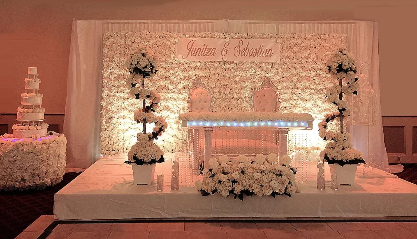 Royalty Party Rentals & Flower Walls - Throne Chairs ...