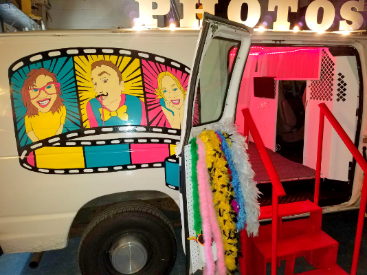 David Warner Photography & Moving Pictures PhotoBooth Van in Cedar Knolls NJ