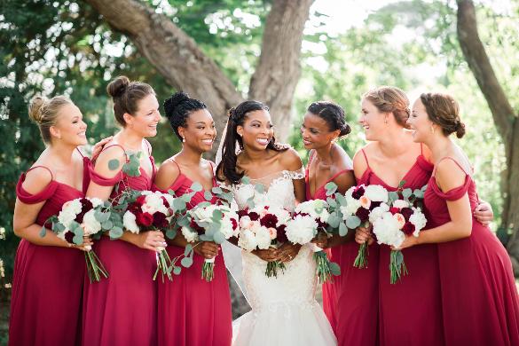 Florham Park, NJ Wedding Services - Bella Bridesmaids - Bridesmaid ...
