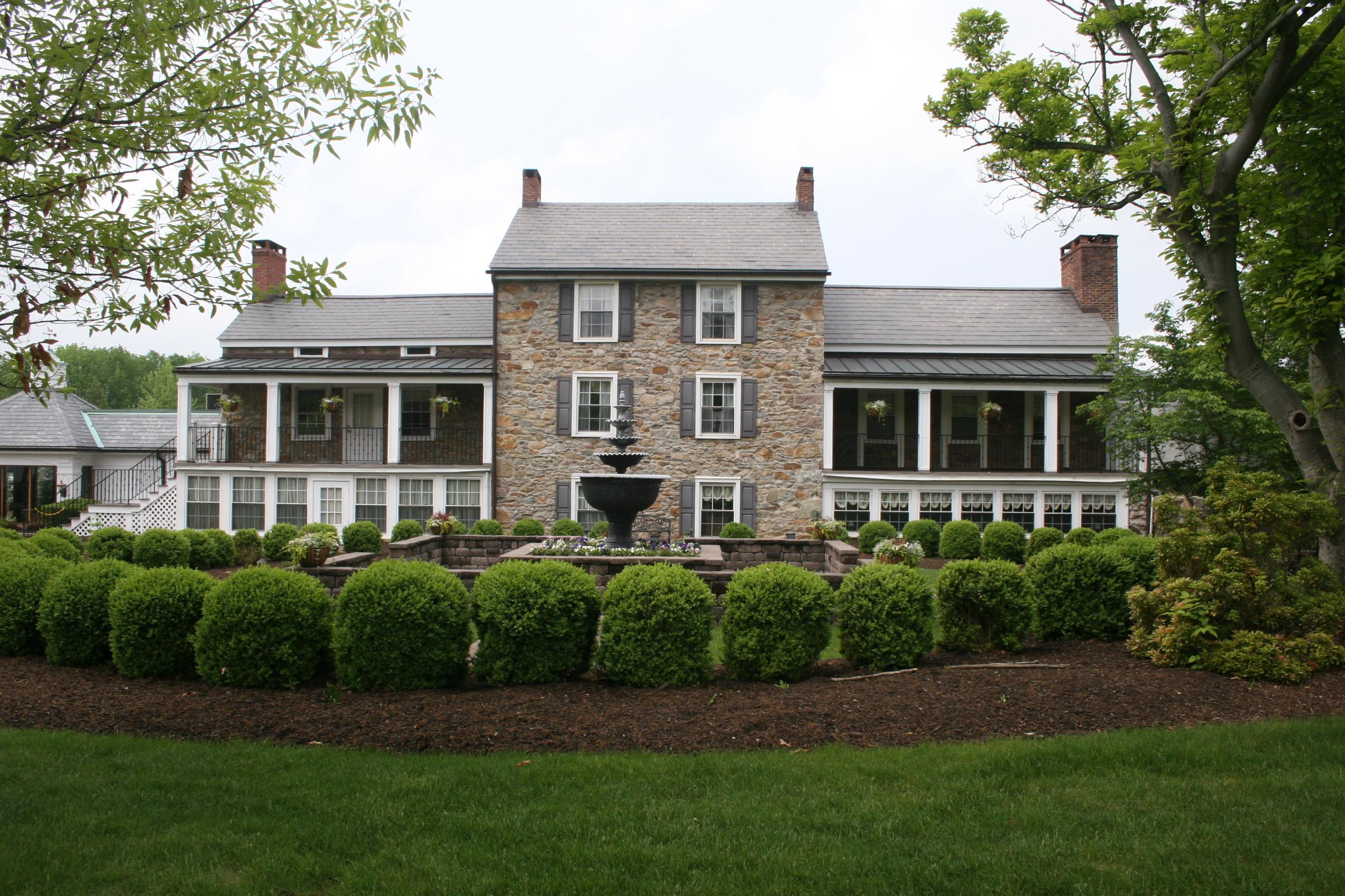 hampton, nj wedding venues - the farmhouse at the grand colonial