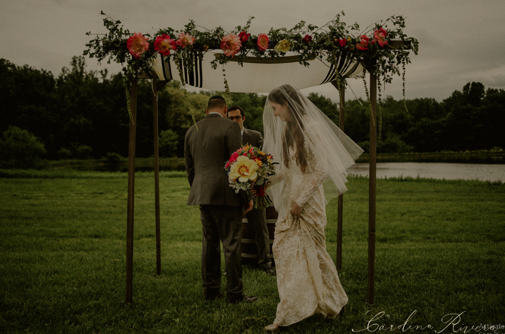 Fruchter-Kramer Wedding at Born to Run Farm by Carolina Rivera Photography