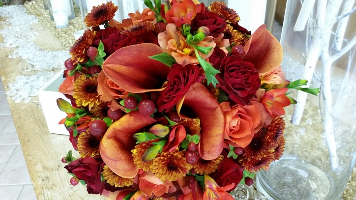 Fall Wedding Bouquets | Carousel of Flowers | Somerville, NJ