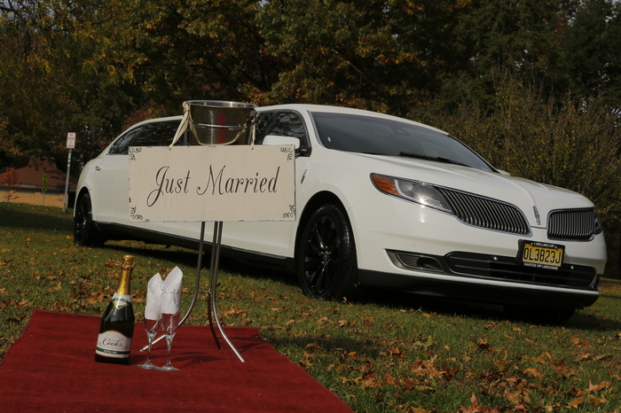 Lincoln MKS Limo 10P by Santos VIP Limousine | New Jersey Weddings