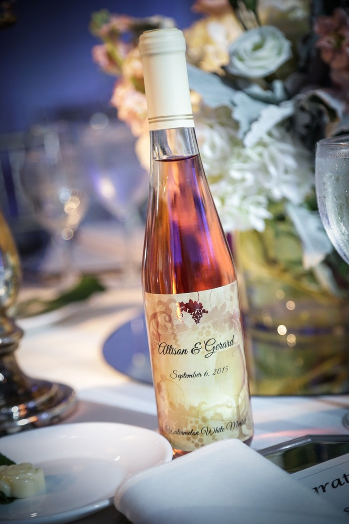 More Custom Wine Bottle Wedding Favors | Your Own Winery | Riverdale, NJ