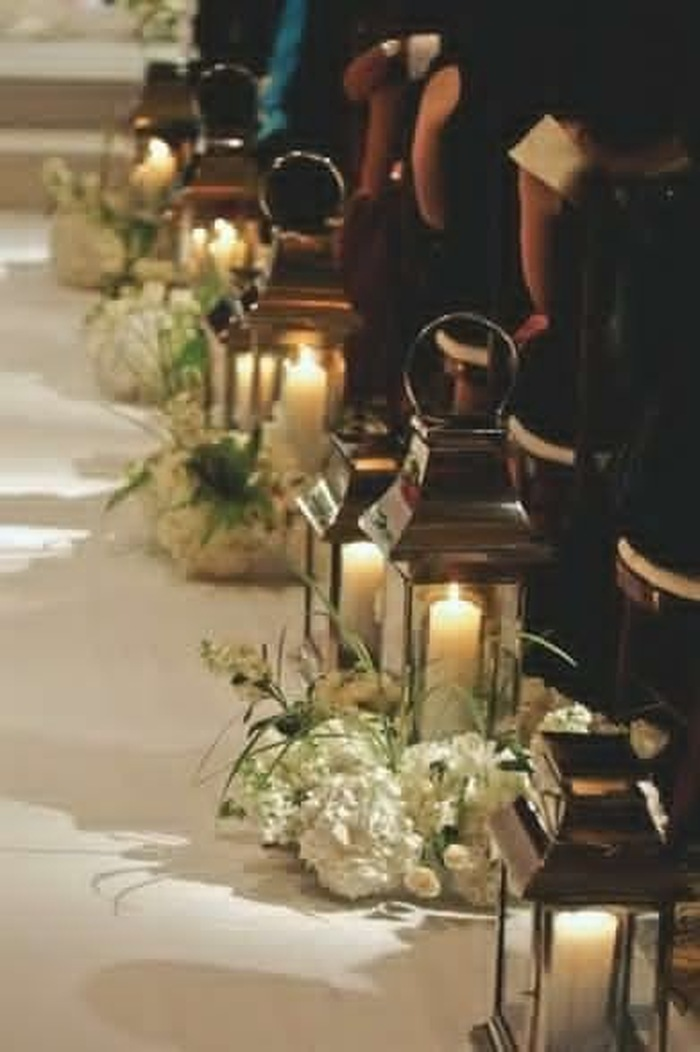 Church Floral Decorations for Weddings by Amaryllis Event Decor