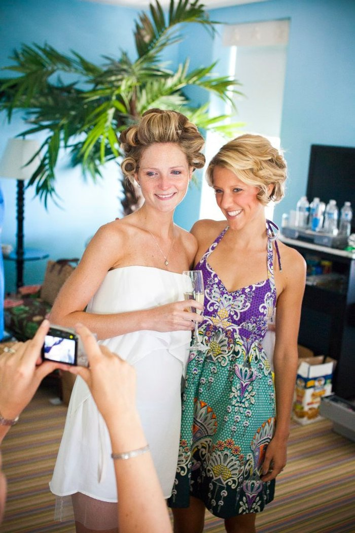 Beautiful Summer Bride at Congress Hall, Cape May, NJ