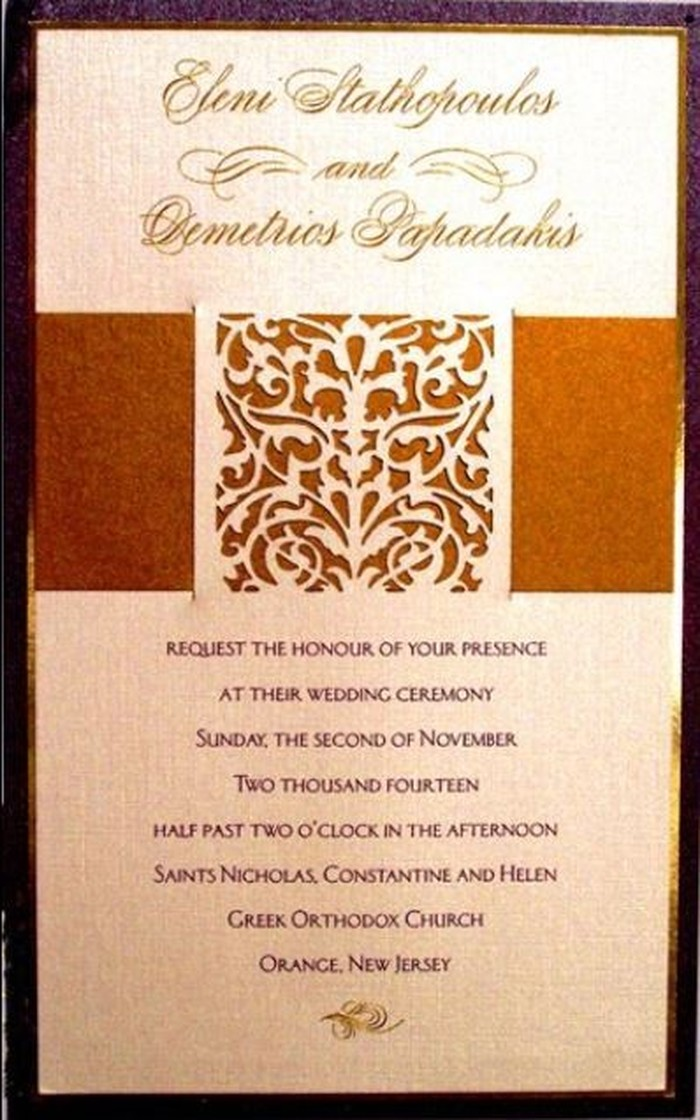 Wedding Invitations by Muriel Meiskin | Freehold, NJ