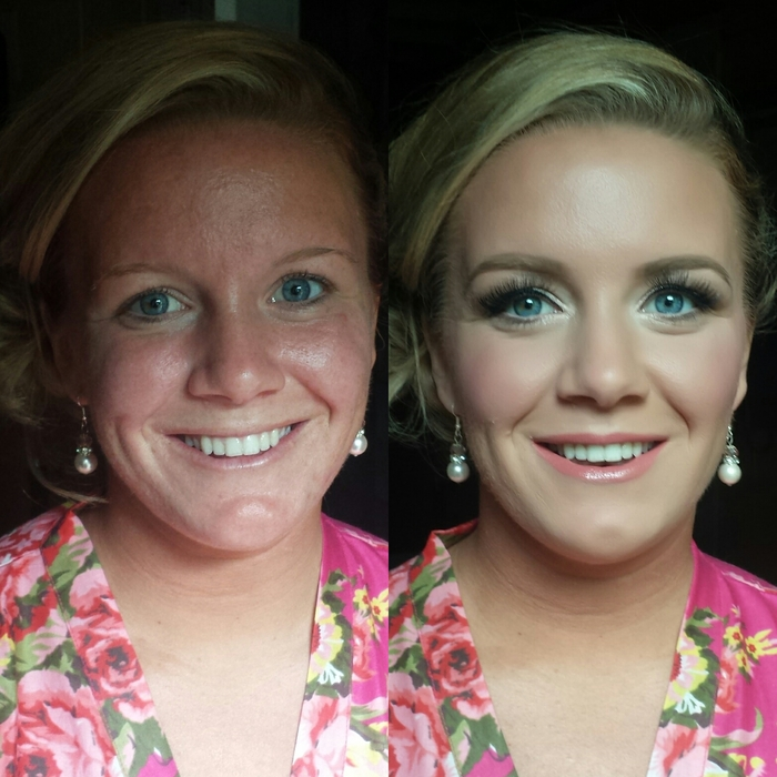 Before and Afters | NJ Brides | Gina Jost Makeup Artist