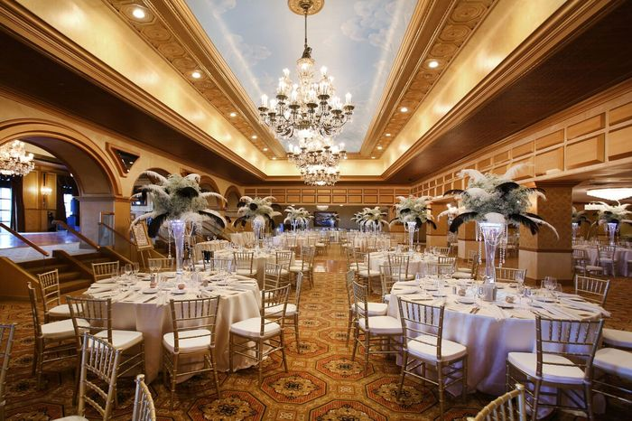 Grand Ballroom at The Claridge Hotel | Atlantic City Weddings
