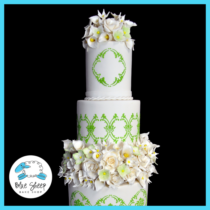 Specialty & Fondant Wedding Cakes | Blue Sheep Bake Shop | Somerville, NJ