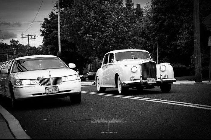 Antique Bentley | Luxury NJ Weddings | Action Limousine