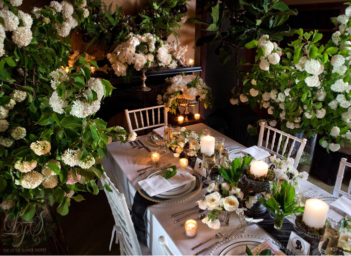 The Little Flower Shoppe Weddings: Urban Chic