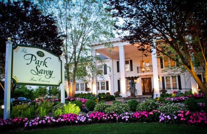 The Park Savoy Estate Florham Nj Weddings