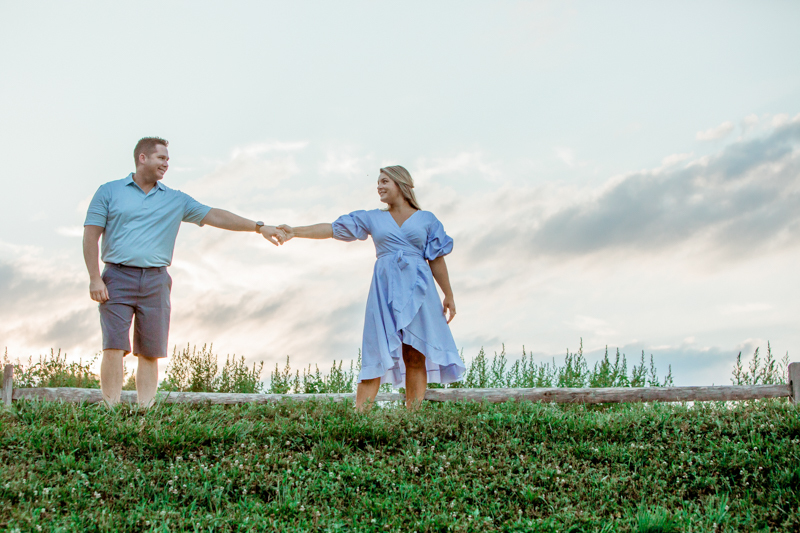 Stephanie and Thomas' Engagement Session