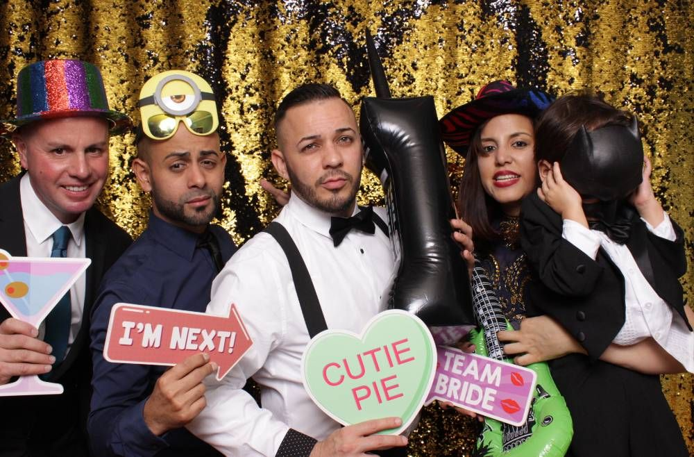Photo Booth Fun by Damon Bilger Weddings