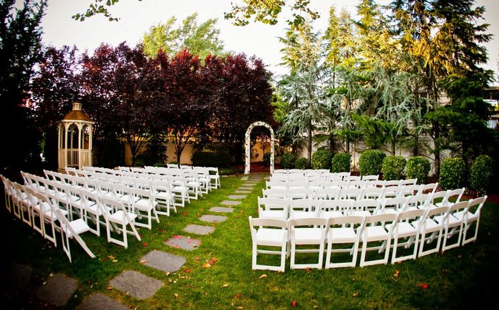 The Empire Club Weddings: Garden Marriage Ceremonies