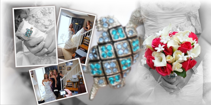 Crystal Plaza Album Layout | Abacus Studios Photography & Video