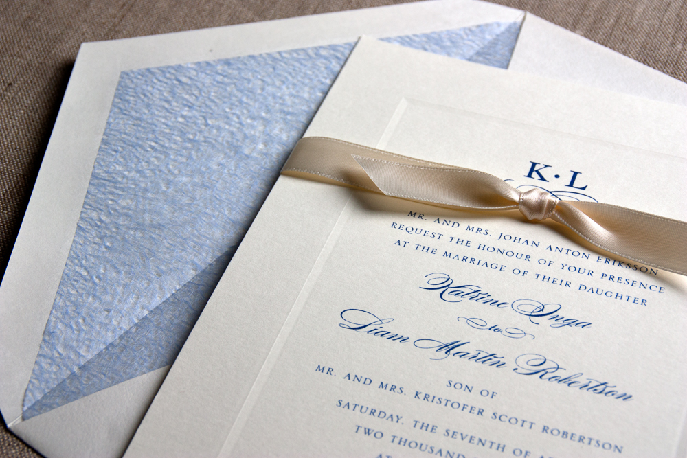 William Arthur & Crane Invitations