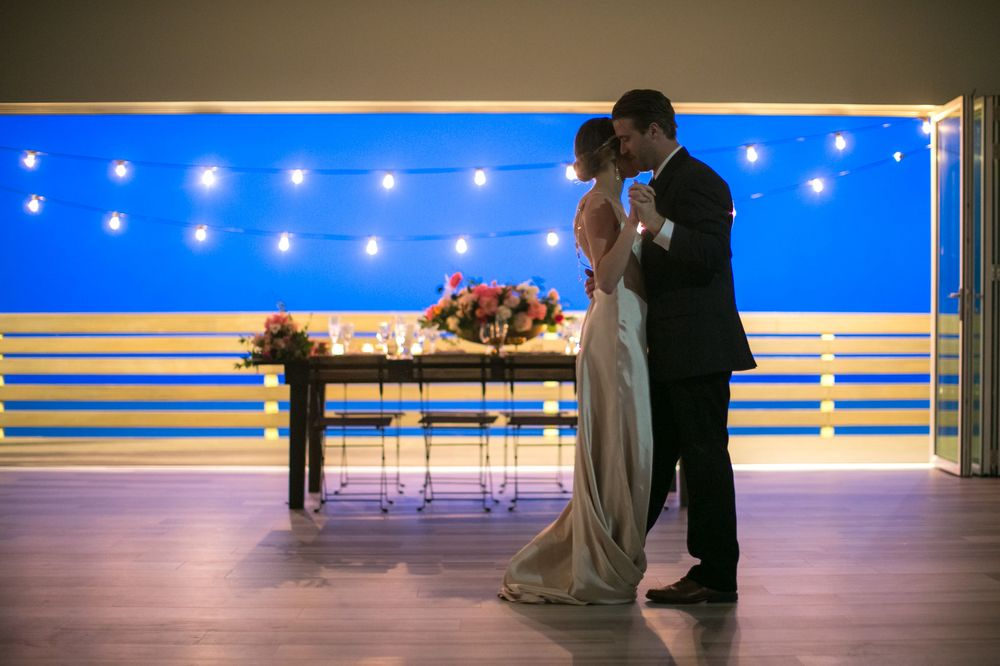 Merri-Makers Caterers at the Taylor Pavilion in Belmar, NJ | Styled Wedding Photo Shoot