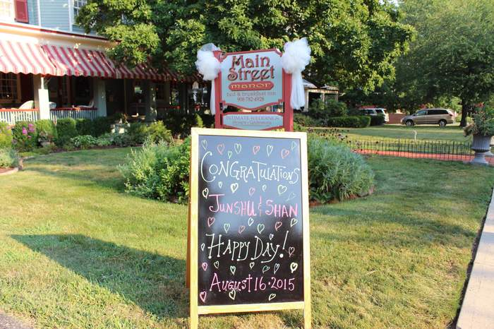 New Jersey Garden Wedding at the Inn
