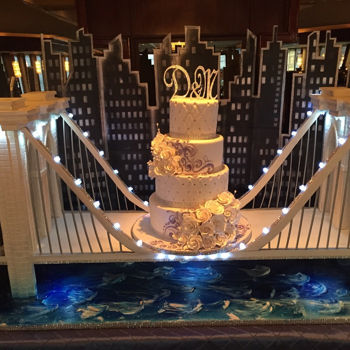 wedding cake bridge weddings aboard royal princess yacht ny boat charter 22091