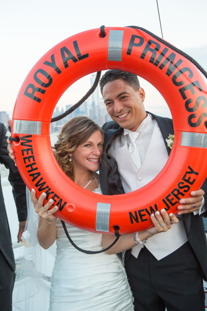 Weddings aboard Royal Princess Yacht | NY Boat Charter