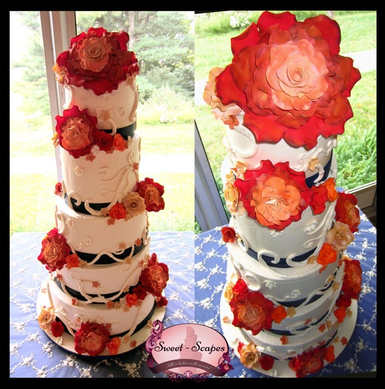 Sweet-Scapes Wedding & Specialty Cakes | New Jersey Weddings