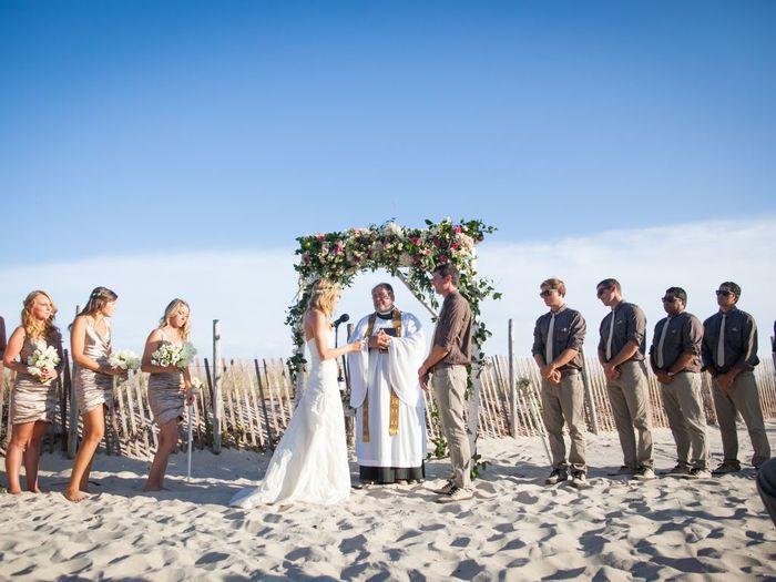 Long Beach Wedding | Sea Shell Resort And Beach Club Weddings Beach Haven Long Beach
