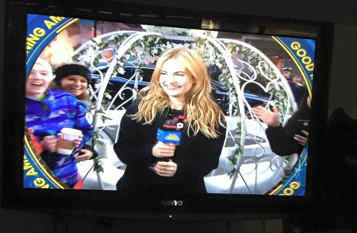 Cinderella Carriage at Good Morning America