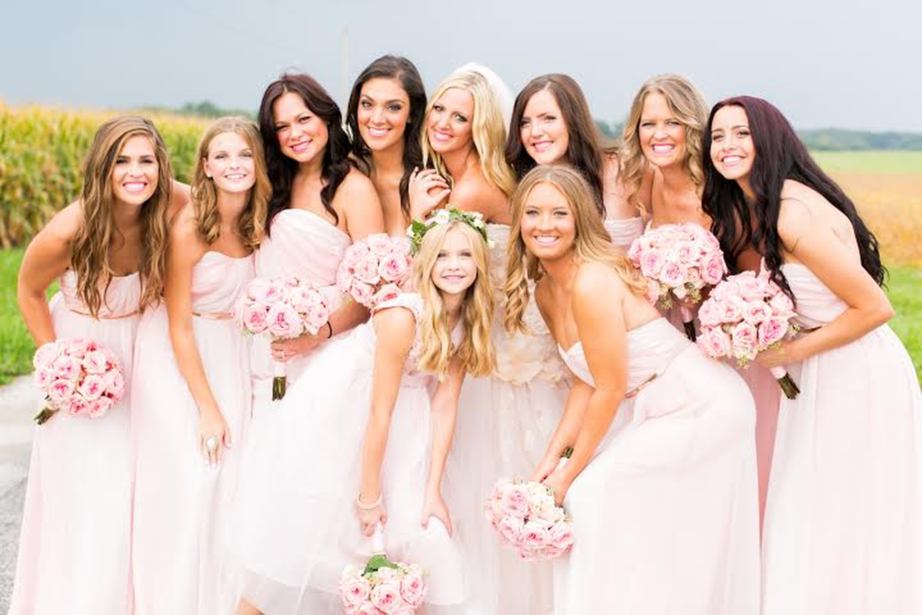 Real Bella Weddings by Bella Bridesmaids | Florham Park, NJ & NYC