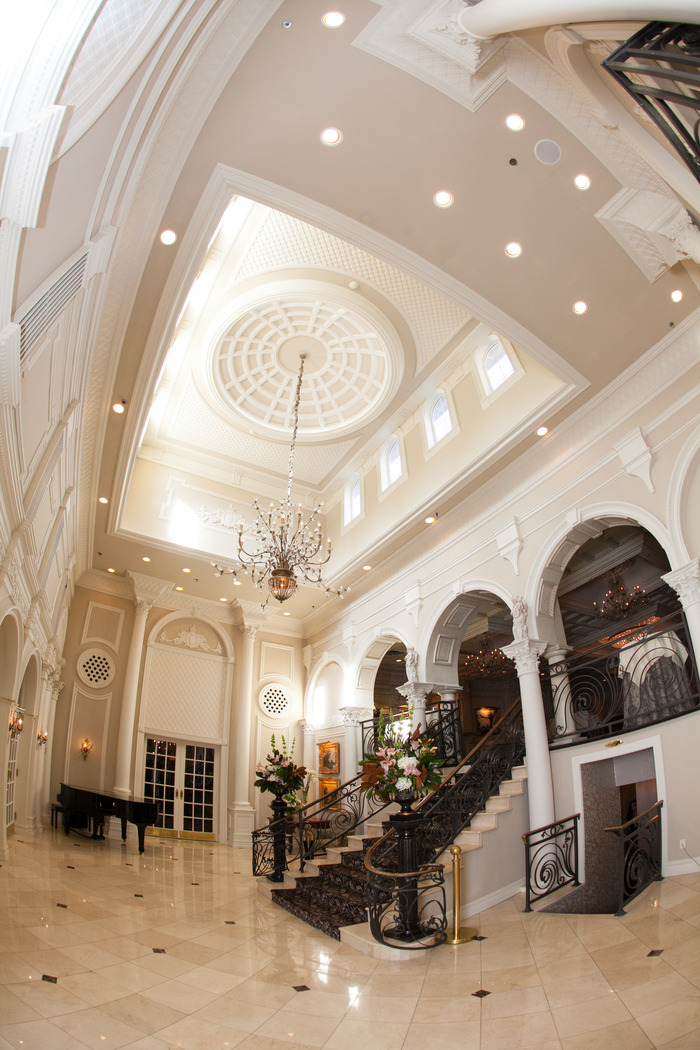 Naninas in the park weddings belleville nj cathedral ceiling in the lobby aloadofball Choice Image