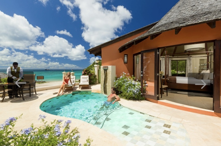 Honeymoon Expo Center:   Sandals Grande St Lucia
