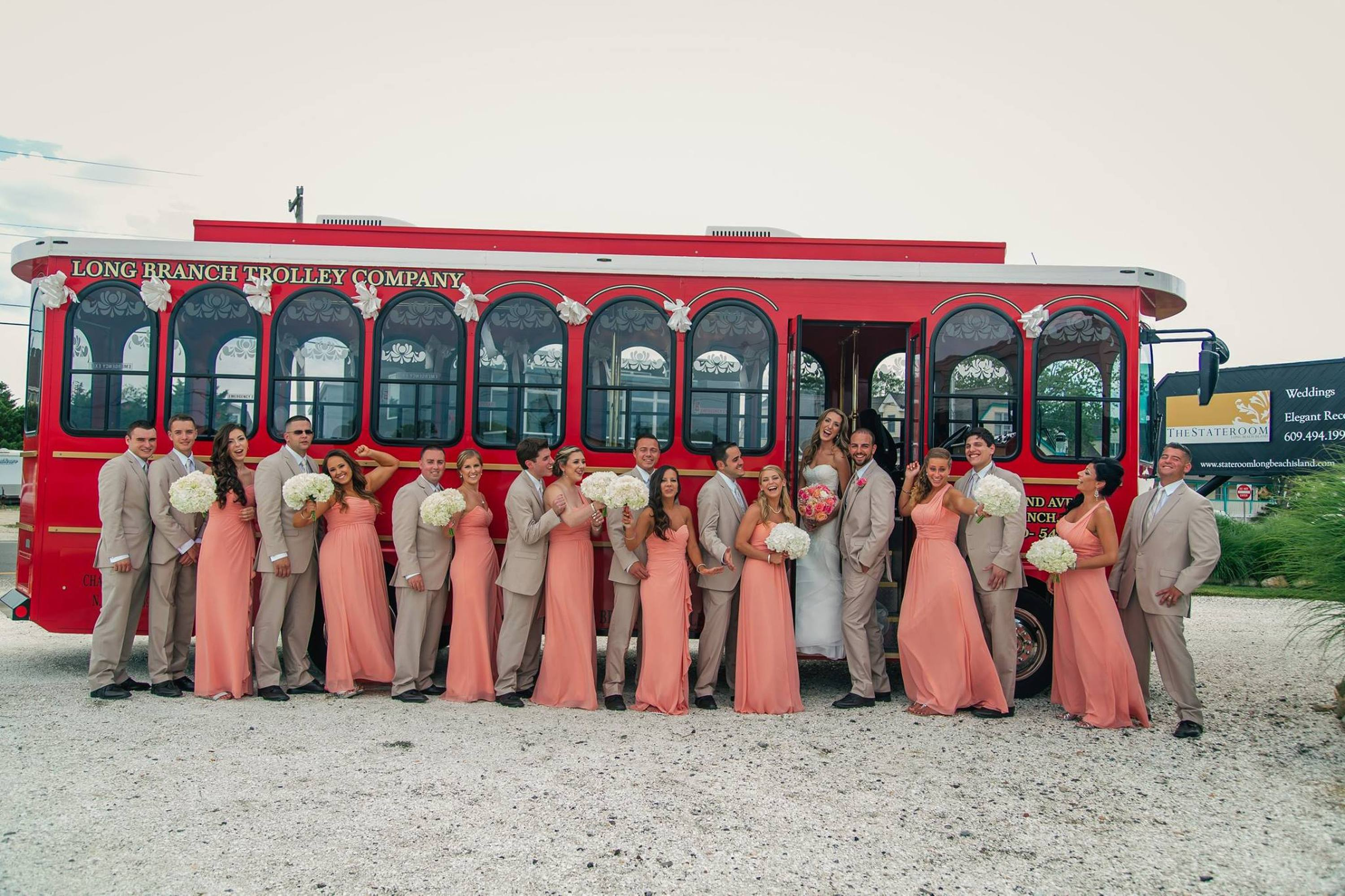 Long Branch Trolley Company Weddings