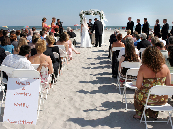Greate Bay Beach Weddings