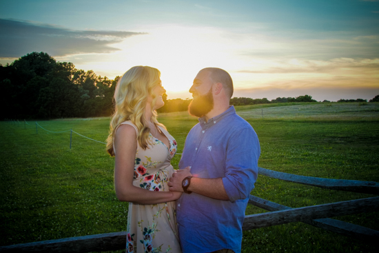Megan and Jeremy's Engagement Session | Enchanted Celebrations