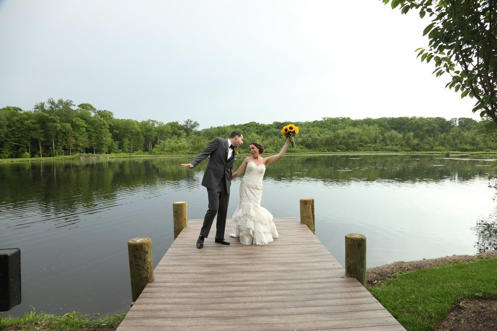 Nicole & Vincent at The Mill Lakeside Manor