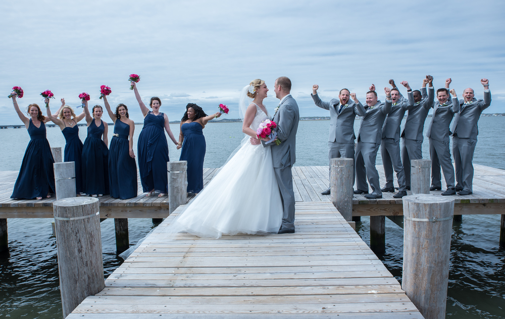Ocean City Yacht Club Weddings