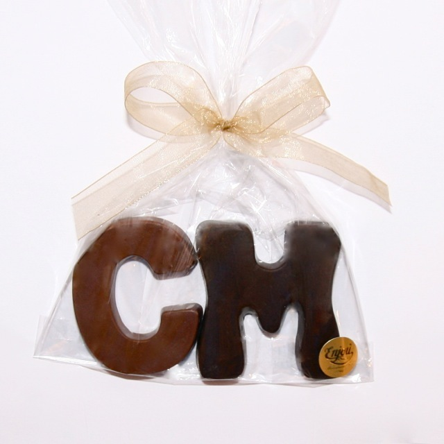 Customized Chocolate Wedding Favors